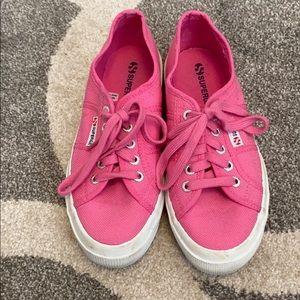 Pink Superga Sneakers Sz 38